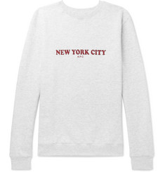 A.P.C. - Printed Stretch-Cotton Jersey Sweatshirt