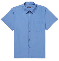 A.P.C. Cotton-Poplin Shirt