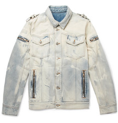 Balmain Bleached Denim Jacket