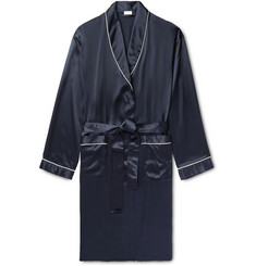 Zimmerli - Piped Silk-Satin Robe