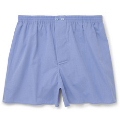Zimmerli - Mercerised Cotton Boxer Shorts