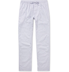 Zimmerli - Metropolitan Tropicals Striped Cotton-Poplin Pyjama Trousers