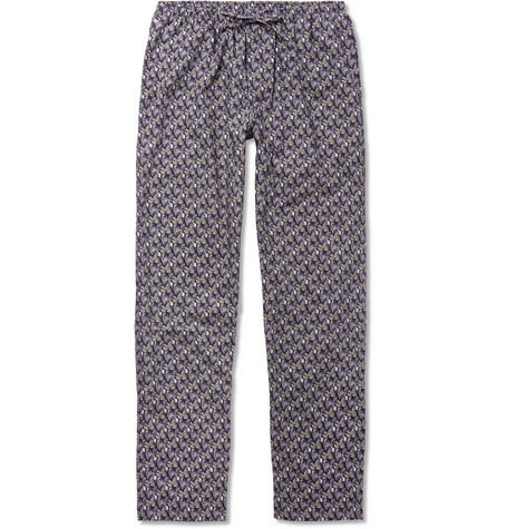 Metropolitan Tropicals Printed Cotton-poplin Pyjama Trousers Zimmerli