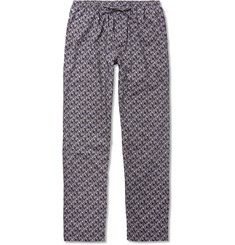 Zimmerli Metropolitan Tropicals Printed Cotton-Poplin Pyjama Trousers