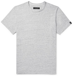 rag & bone - James Mélange Cotton-Jersey T-Shirt