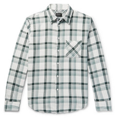 rag & bone Fit 3 Beach Checked Double-Faced Cotton Shirt