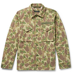 rag & bone - Camouflage-Print Cotton-Canvas Shirt Jacket