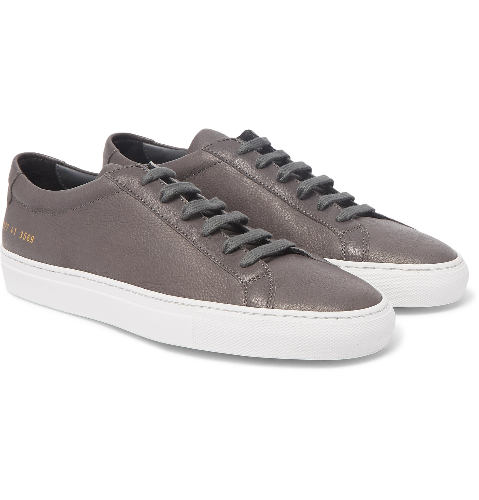 Original Achilles Full-grain Leather Sneakers Common Projects SjS6nf