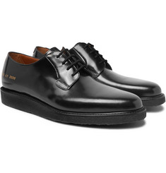Common Projects - Polished-Leather Derby Shoes