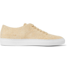 Common Projects Court Brushed-Suede Sneakers