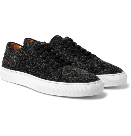 Court Brushed-suede Sneakers Common Projects 1Jxk7iAF8t