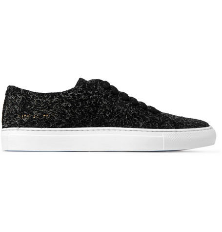 Common Projects  COURT BRUSHED SUEDE SNEAKERS