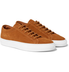 Common Projects - Achilles Low Suede Sneakers