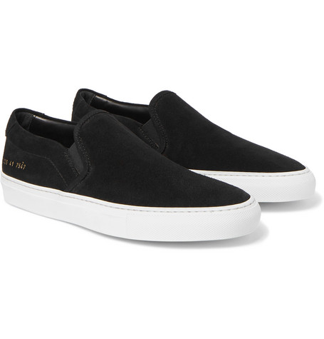 Suede Slip On Sneakers by Common Projects