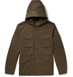 Mr P. - Weather-Resistant Hooded Field Jacket