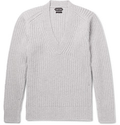 TOM FORD Slim-Fit Ribbed-Knit Sweater