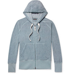 TOM FORD Cotton-Terry Zip Up Hoodie