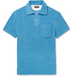 TOM FORD Cotton-Terry Polo Shirt
