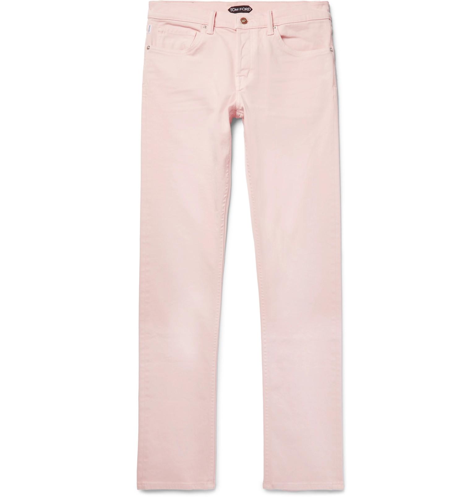 Slim-fit Washed Stretch-denim Jeans Tom Ford DlVqnwsVY