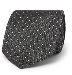 TOM FORD - 8cm Polka-Dot Silk-Jacquard Tie