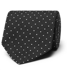 TOM FORD - 8cm Embroidered Woven Silk Tie