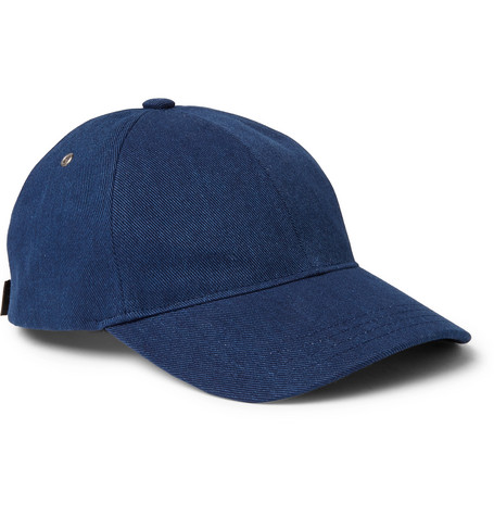 Alex Denim Cap - Mid denim