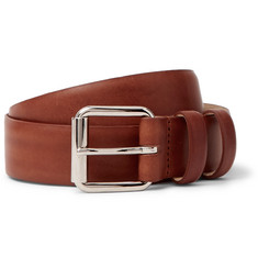 A.P.C. 3cm Tan Leather Belt