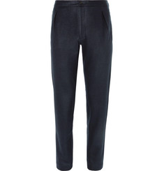 Camoshita Slim-Fit Pleated Wool-Blend Trousers
