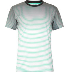 Adidas Sport - Melbourne Striped Climalite Tennis T-Shirt
