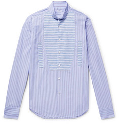 Loewe - Slim-Fit Wing-Collar Linen and Cotton-Poplin Shirt