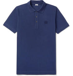 Loewe - Embroidered Cotton-Piqué Polo Shirt