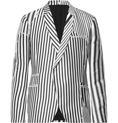 Haider Ackermann - Double-Breasted Striped Twill Blazer