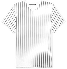 Haider Ackermann Oversized Striped Cotton-Jersey T-Shirt
