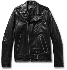 AMIRI Leather Biker Jacket