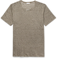 Schiesser - Helmut Striped Linen T-Shirt