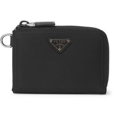 Prada Nylon Zip-Around Wallet