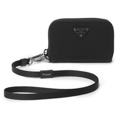 Prada Shell Zipped Cardholder