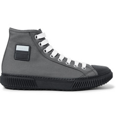 Prada Stratos Canvas High-Top Sneakers