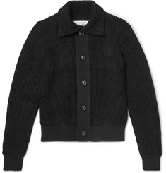 Maison Margiela Textured-Knit Cardigan