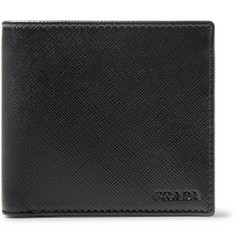 Prada Saffiano Leather Billfold Wallet