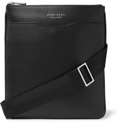 Hugo Boss - Cross-Grain Leather Messenger Bag