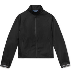 Prada Rubber-Trimmed Shell Blouson Jacket