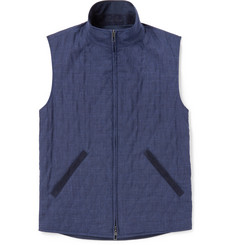 Loro Piana Reversible Shell and Wool-Blend Gilet