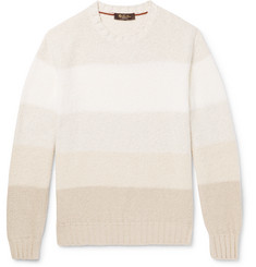 Loro Piana Striped Cotton Sweater