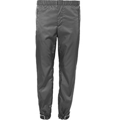 Prada Tapered Gabardine Trousers