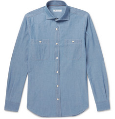 Loro Piana - Cotton-Chambray Shirt