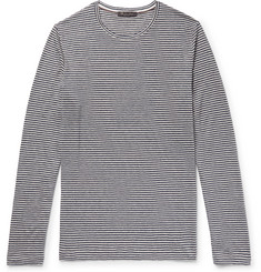 Loro Piana - Striped Linen T-Shirt