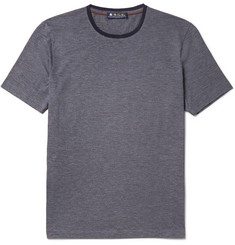 Loro Piana MatchPlay Mélange Tech-Jersey T-Shirt