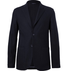 Loro Piana - Navy Unstructured Cashmere and Virgin Wool Blazer