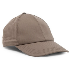 Brunello Cucinelli Striped Stretch-Cotton Baseball Cap